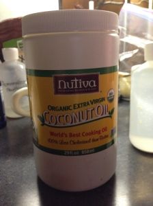 My favorite coconut oil; I find mine on Amazon.  It smells SOOOOO good!